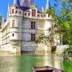 Curiosidades - Castelo de Azay-le-Rideau, na França