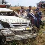 Trânsito Assassino: Acidente com dois mortos e quatro feridos na BR-364