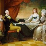 Pintura - A Família Washington