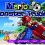 Jogos grátis Mario Monster Truck 3D