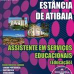 Apostila Prefeitura da Estância de Atibaia 2014 ASS. EM SERVIÇOS EDUCACIONAIS