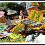 """Política - Lista dos candidatos sujões segundo página """"Nesse eu não voto"""""""