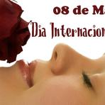 Como comemorar o dia internacional da mulher?