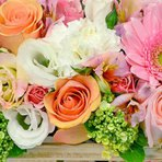 Com cestas de flores você pode soltar a sua criatividade