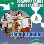 Apostila para o concurso da Prefeitura de Campina Grande PB Cargo Fiscal de Obras