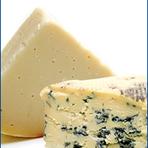 Queijos finos: Camembert, Gorgonzola, Morbier e Saint-Paulin