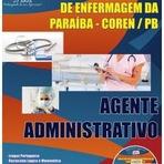Apostila COREN/PB 2014 - Agente Administrativo - Concurso Público do PARAÍBA