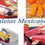 Culinária - Receita de Paleta o famoso sorvete de origem Mexicana