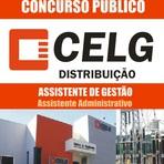 Apostila Concurso CELG D 2014 - Assistente de Gestão: Assistente Administrativo