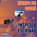 Concursos Públicos - Apostila Inspetor / Escrivão Concurso PC/CE 2014  (GRÁTIS CD)