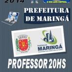 Apostila Concurso Prefeitura de Maringa PR Professor 20 Hs 2014