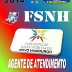 Apostila Concurso FSNH Agente de Atendimento 2014