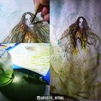 Pintura - Alanis Morisse é homenageada com um desenho