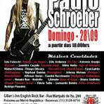 Tributo a Paulo Schroeber, acontece no próximo final de semana, em SP