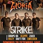 Strike e Gloria se apresentam em Sorocaba neste domingo