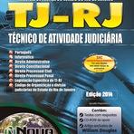 Apostila Tribunal de Justiça RJ - COMPLETA - Técnico de Atividade - Judiciária sem especialidade - ATUALIZADA