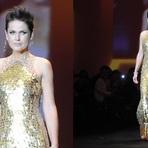 Vestido de festa dourado de Xuxa – Modelos de Vestidos de Festa