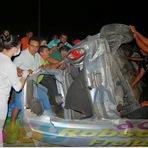Fotos do grave acidente na BR - 226 próximo a Tangará