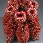 Esculturas feitas com lápis
