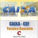 Apostila concurso CAIXA econômica federal CEF 2014 técnico bancário