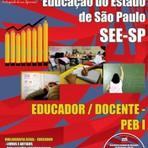 Apostila concurso SEE-SP Educador/Docente Peb-Professor de educação Básica 2014