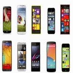 os 10 celulares mais populares em 2014