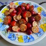 Culinária - Araçá-vermelho com vinho do Porto e baunilha!