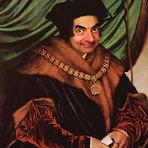 Pinturas famosas repaginadas com o rosto de Mr.Bean