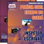 Concurso Policia Civil / CE  INSPETOR / ESCRIVÃO Edital 2014