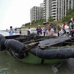 Curiosidades - Grupo de Cubanos chega às praias de Miami após travessia de 10 dias, rumo a liberdade !!