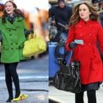 Casacos de inverno coloridos