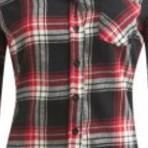 Camisa de flanela xadrez