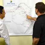 Rede elétrica atenderá mais municípios, constata Arom na Eletrobras/RO