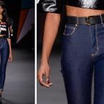 A moda das calças cintura alta