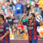Dupla Neymar e Messi anota cinco gols e Barcelona goleia o Granada