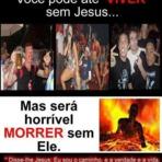 Não Queira Morrer sem Jesus Cristo!