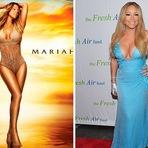 Erro de Photoshop na foto da famosa Mariah Carey