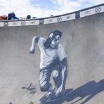 Homenagem a Shogo Kubo em Venice Skatepark.