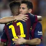 Barcelona 6×0 Granada: 400º gol de Messi e Hat-Trick de Neymar