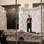 Bryan Berg e o maior castelo de cartas do mundo