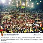 Zico parabeniza mais um título Mundial do Flamengo.