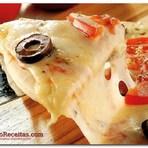 Receita Pizza de panela de pressão