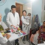 Fotos da ação social - Missionários da Saúde (28/09/14) no Centro de recuperação feminino Kairós