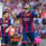 A repercussão no Brasil do hat-trick de Neymar na Liga Espanhola