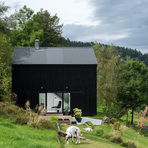 Casa moderna incrível que já foi um velho celeiro