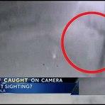 Câmera da polícia flagra suposta criatura fantasmagórica