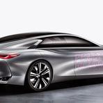 Automóveis - Q80 conceito Inspiração mostra o futuro carro-chefe da Infiniti