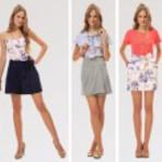 Modelos de saia cintura alta