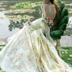 Lindos vestidos de noiva estampados