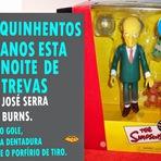 Livro do Sr. José Serra Burns 500 anos esta noite de trevas.